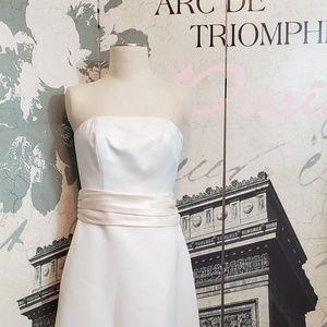 Galina Strapless Wedding Dress Size 8